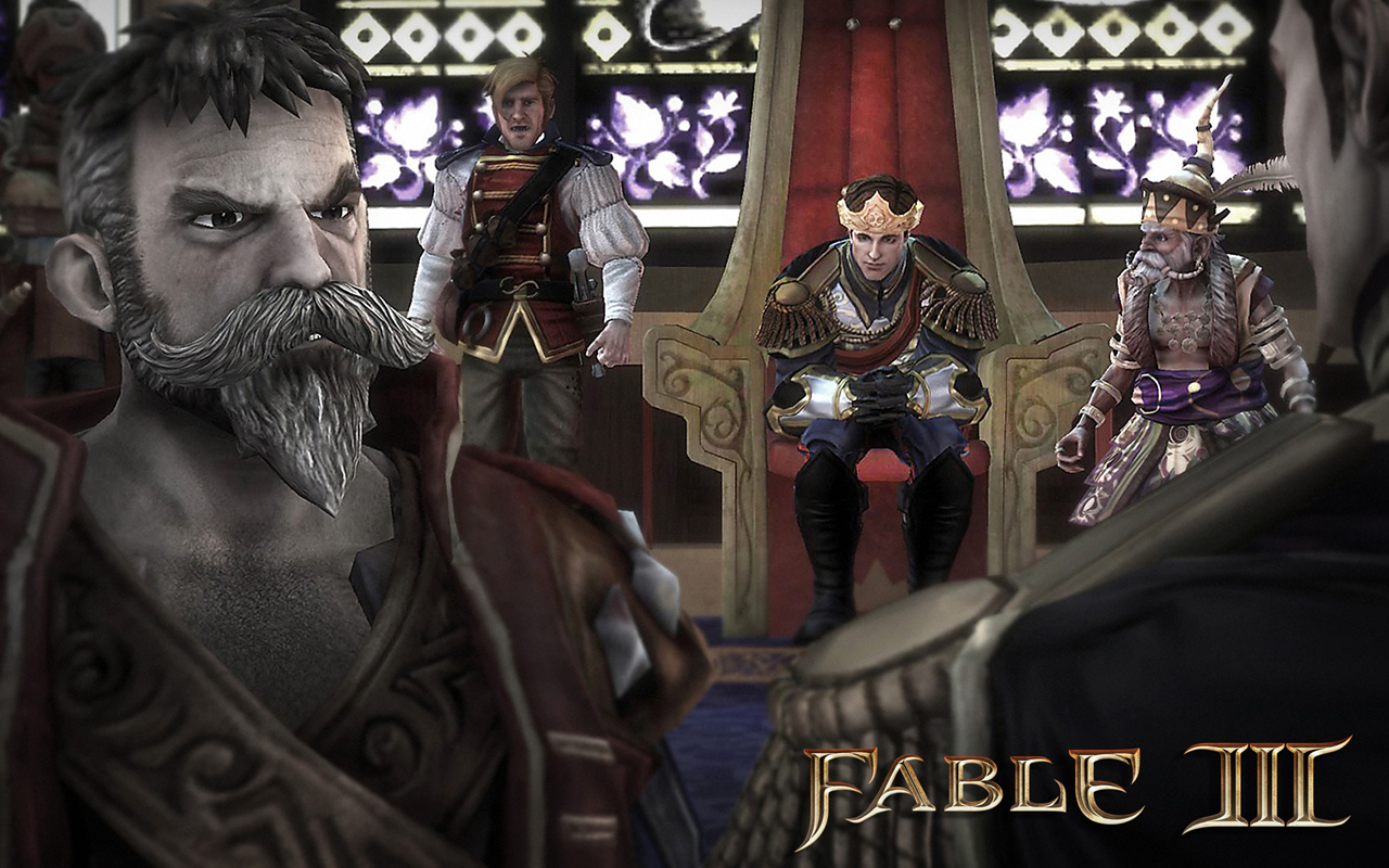 Fable 3 Throne